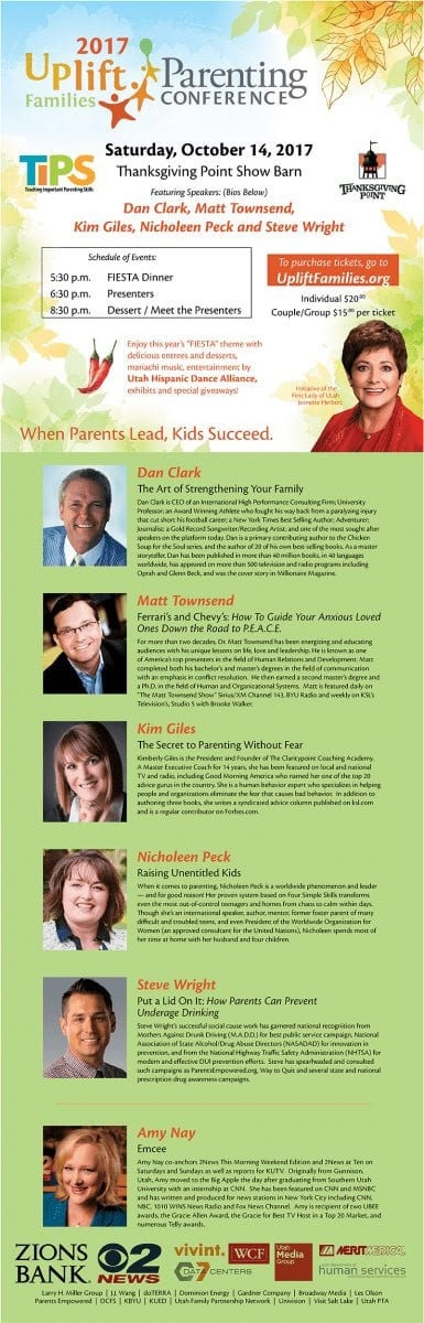 Family Strengthening Conference in Utah Worth Attending!