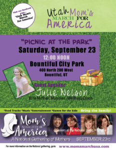 Join WOW for Utah's Mom's March for America